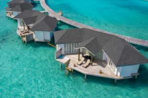 Cinnamon Dhonveli Pasta Point surfing Maldives surf Atoll Travel Overwater Suite