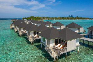 Cinnamon Dhonveli Pasta Point surfing Maldives surf Atoll Travel Water Bungalow